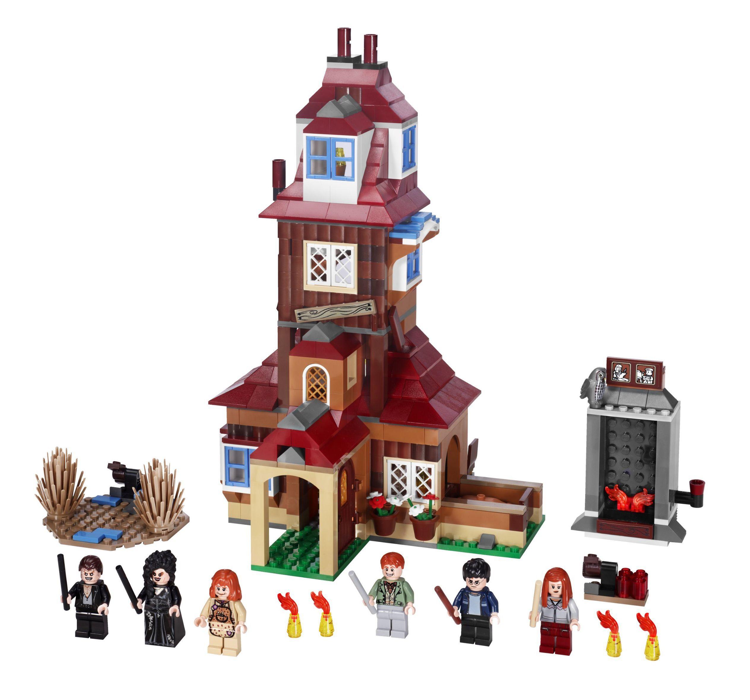Lego Burrow Lego Ideeen Lego Harry Potter Lego