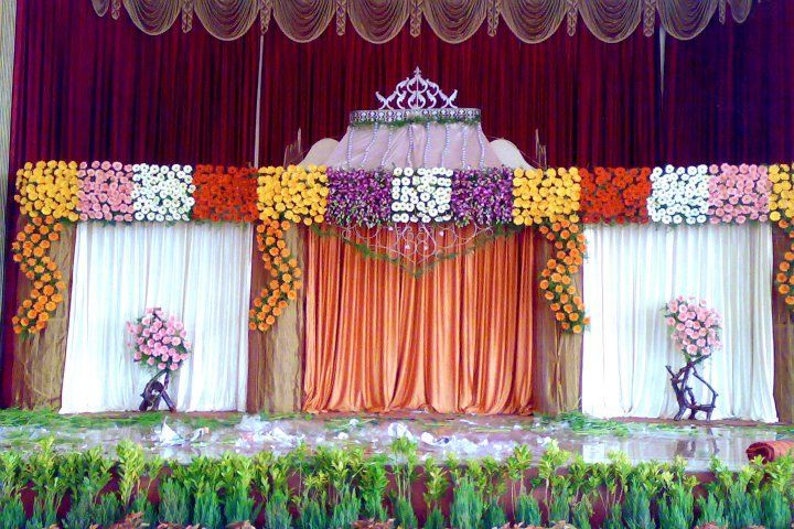 Bangalore Stage Decoration Design 380 Indian Wedding Stage