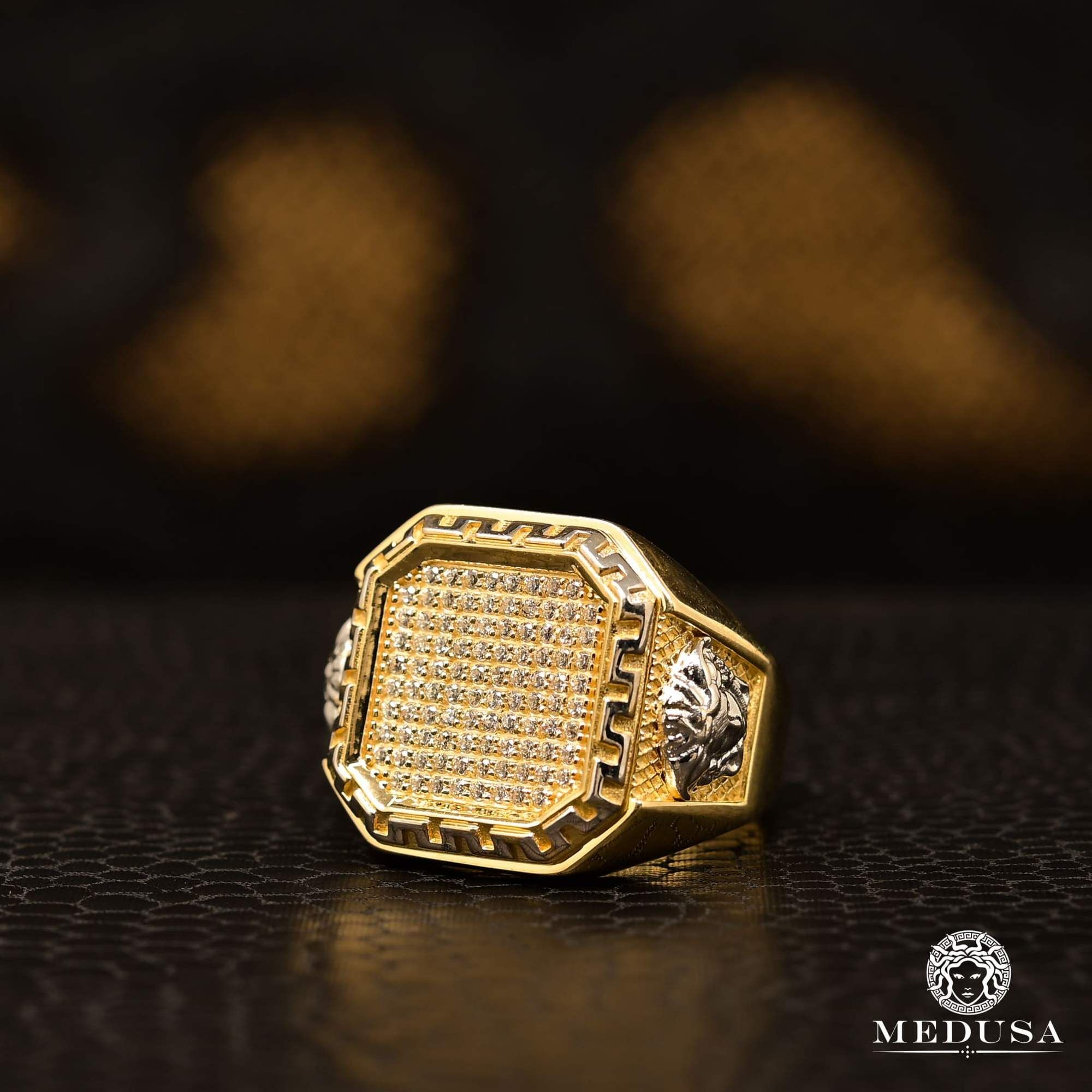 Square H24 in 2020 Rings for men, Mens ring designs