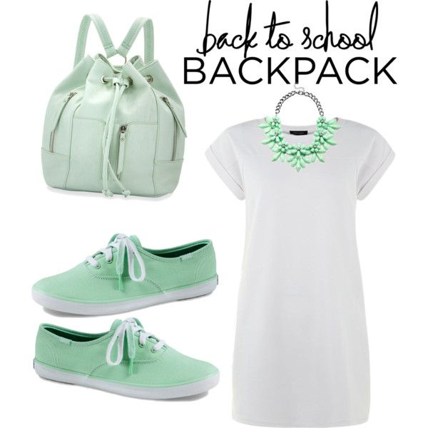 Nothing Basic by yviestyle on Polyvore featuring polyvore mode style Keds Neiman Marcus Slate & Willow BackToSchool