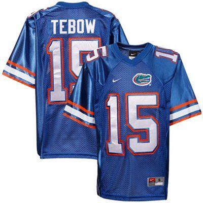 new style 5a9e1 85d3b Nike Tim Tebow Florida Gators Youth #15 Tackle Twill ...