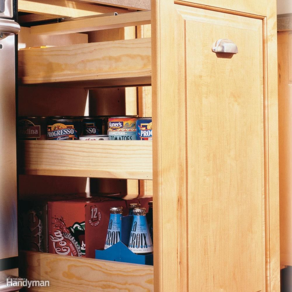 Best Place To Buy Cheap Kitchen Cabinets: 7 Roll-Out Cabinet Drawers You Can Build Yourself In 2019
