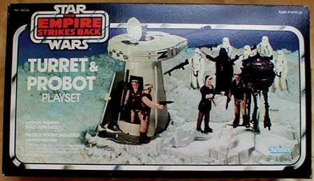 Vintage Star Wars Turret Probot Hatch Part