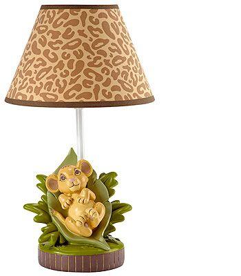 Disney Baby   Lion King Lamp U0026 Shade
