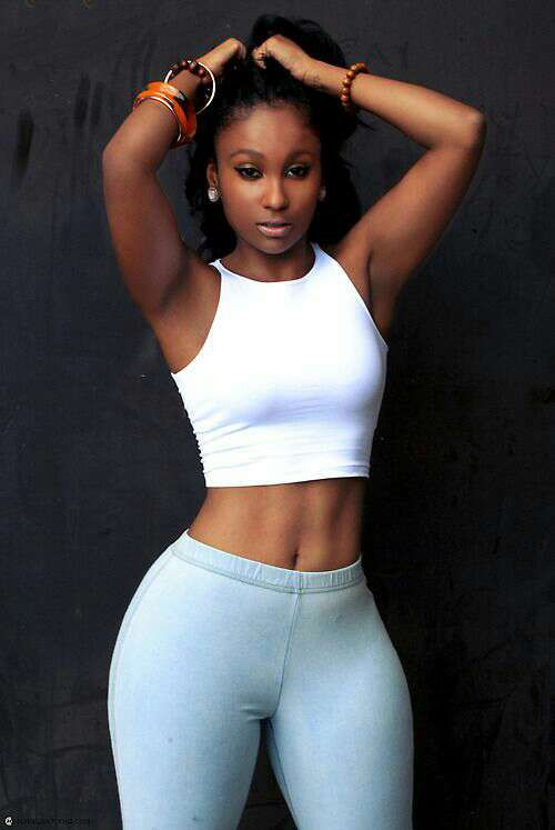 Toned black women