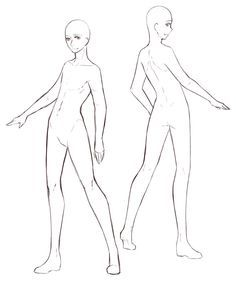 Male Anime Base Anime How To S Full Body Base On Pinterest