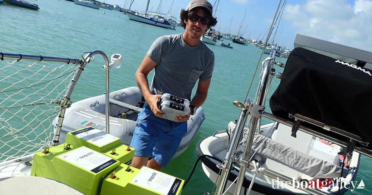 Lithium Batteries On A Boat Review The Boat Galley Boat Galley Lithium Battery Small Boats