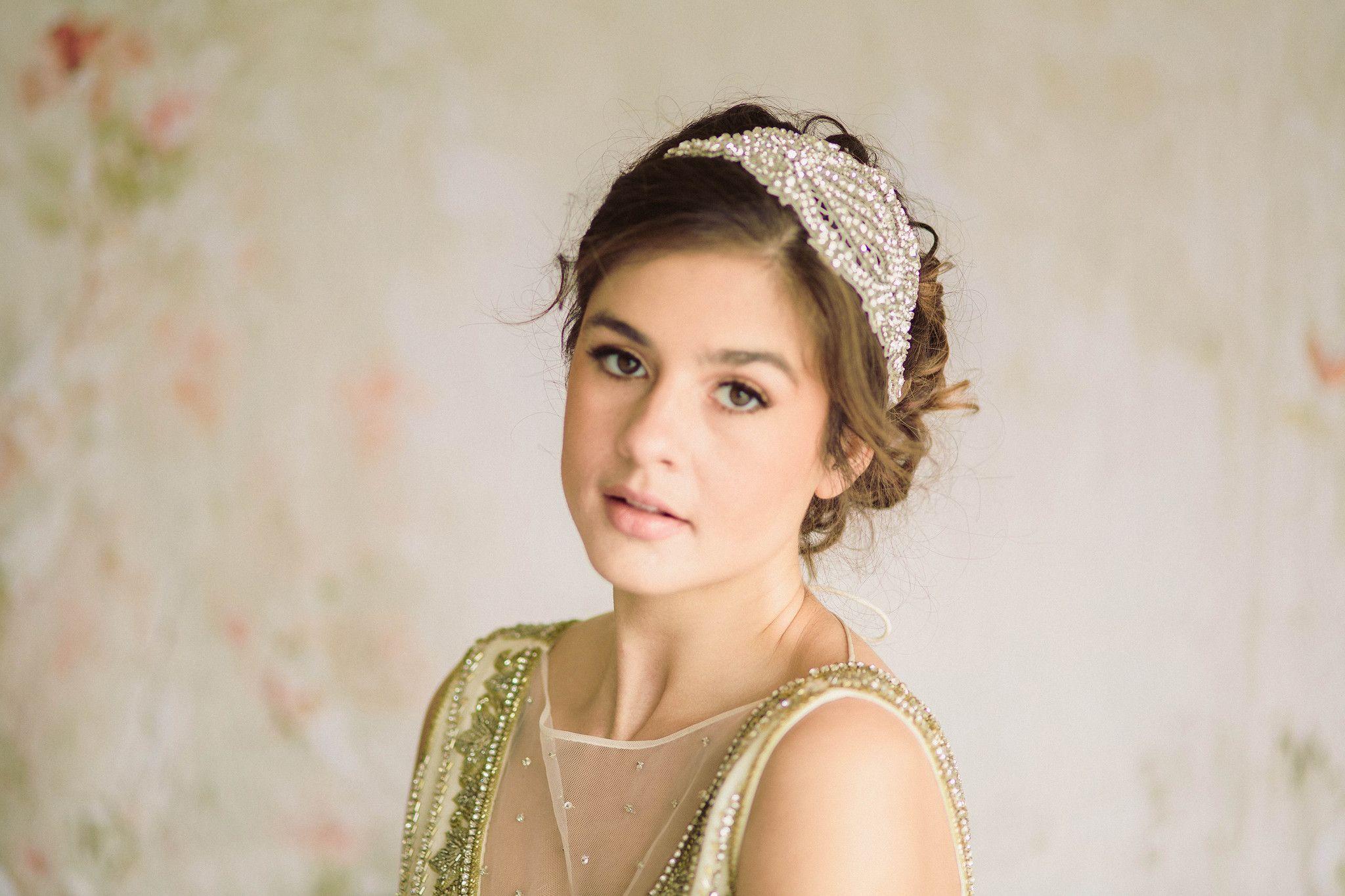 artdeco inspired bridal headpiece sergia from millieicaro
