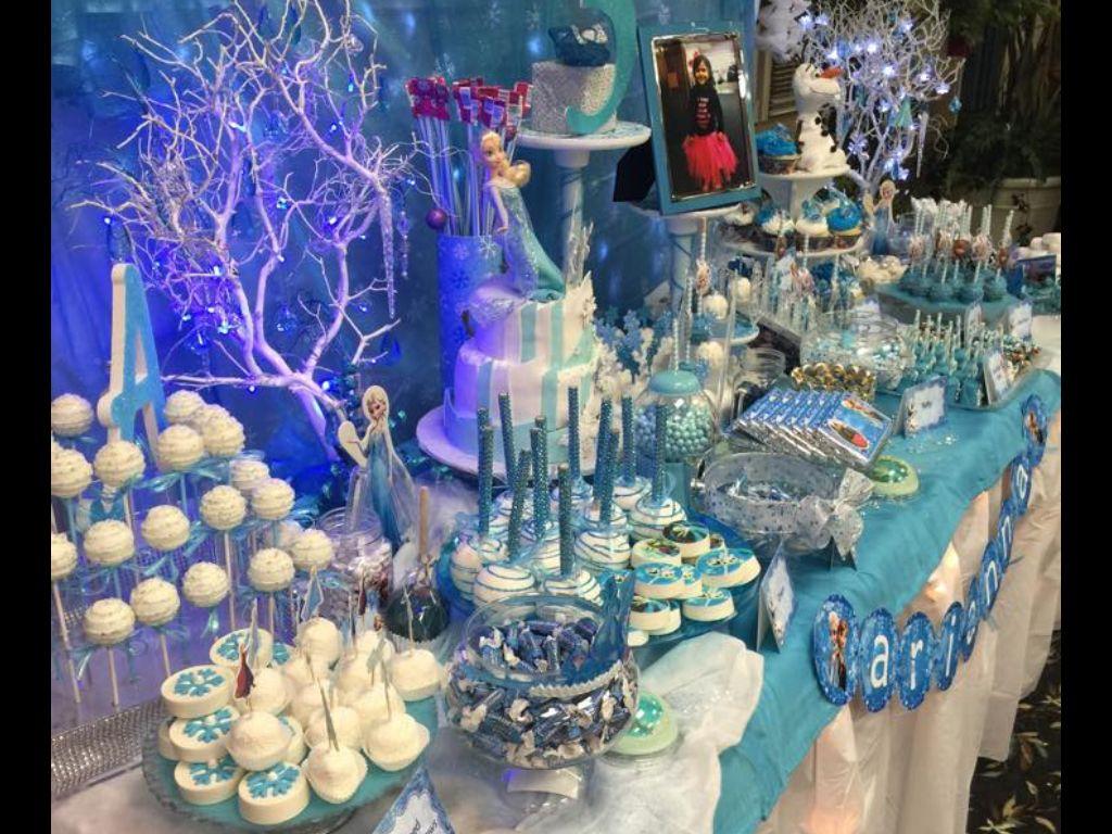 Frozen Candy Table Frozen Candy Table Candy Table Frozen Party