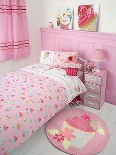 Cute Cupcake Bedroom