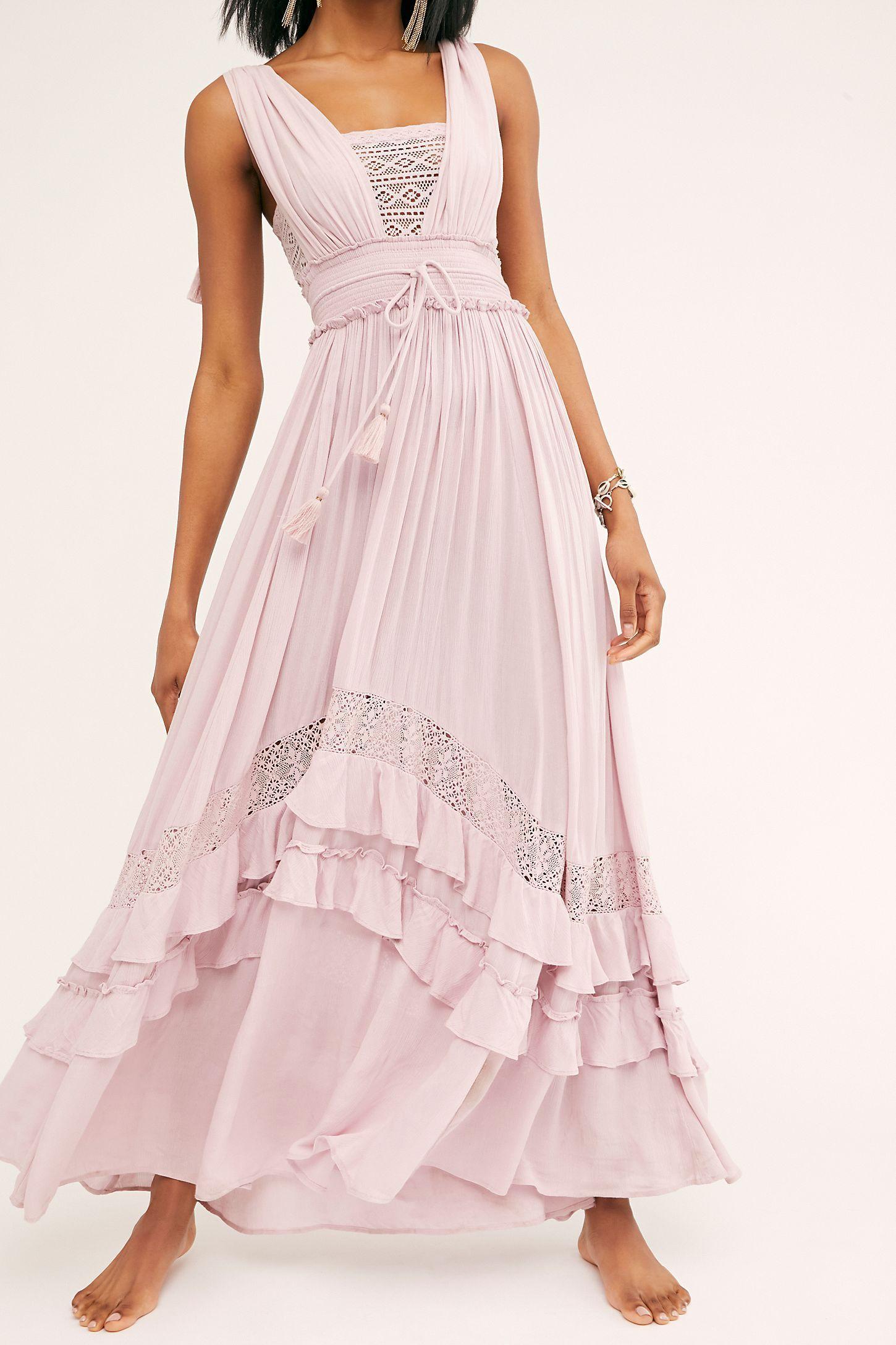 Santa Maria Maxi Dress Maxi Dress Midi Dress Summer Cottagecore Dresses [ 2175 x 1450 Pixel ]