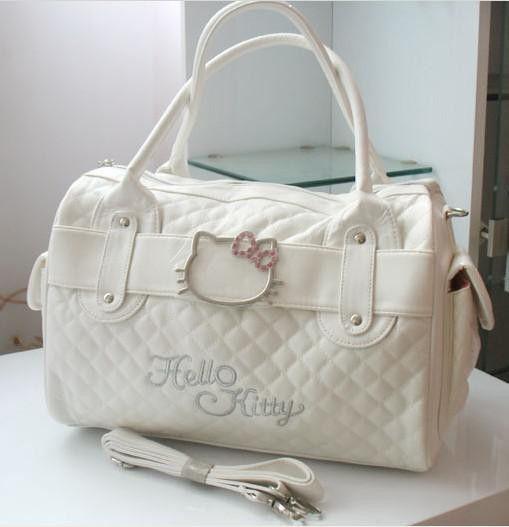 269737cc4 Luxury famous brand women female ladies casual bags leather hello kitty  handbags shoulder tote bag bolsas femininas couro
