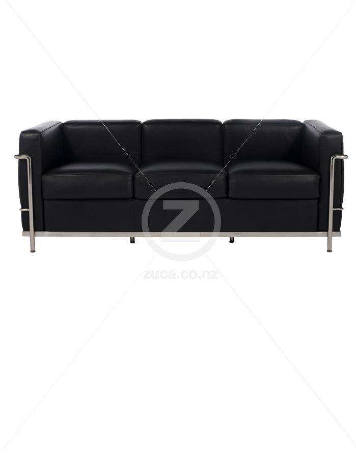 Replica Le Corbusier Pe 3 Seater Sofa Zuca Homeware Chairs Furniture