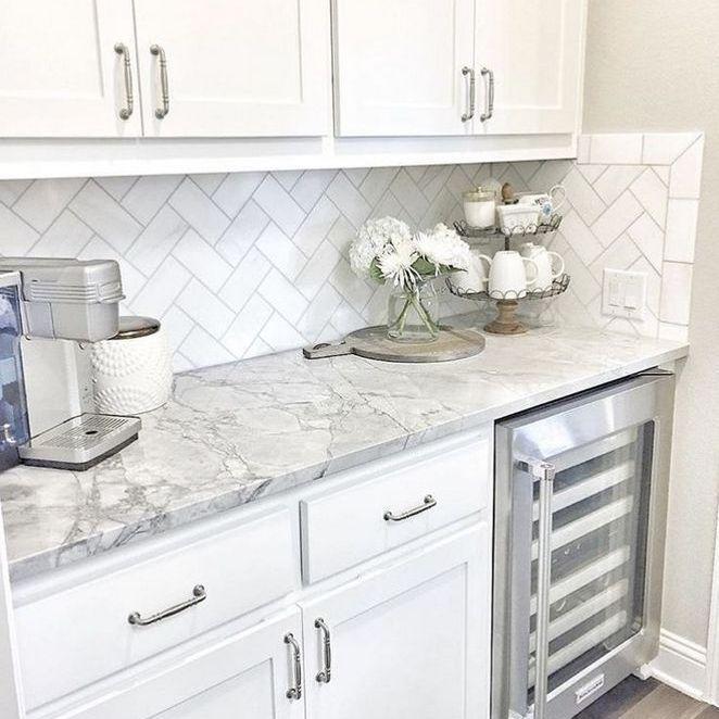 Farmhouse Kitchen Countertops, White Kitchen Cabinets With Granite Countertops