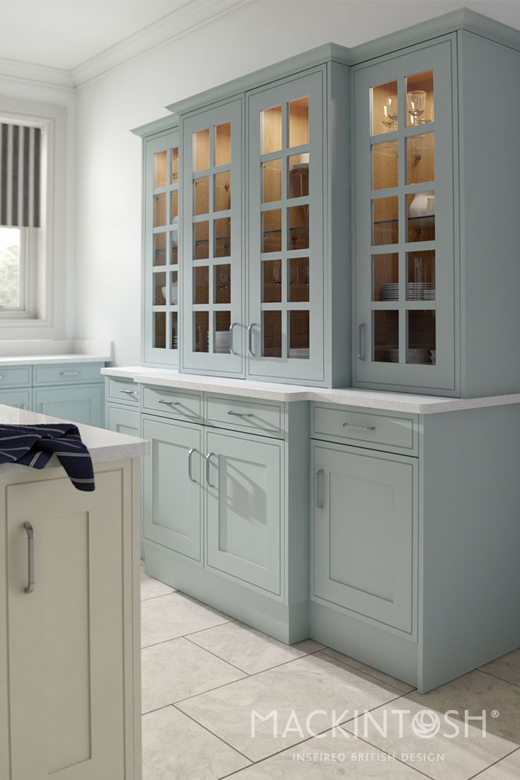 Traditional Mackintosh Kitchen With Inframe Effect Doors In Delectable Designer Kitchen Doors Decorating Design