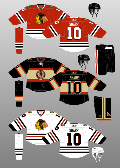 Chicago Blackhawks 2009-11 - The (unofficial) NHL Uniform Database ... a2fe6c0d7