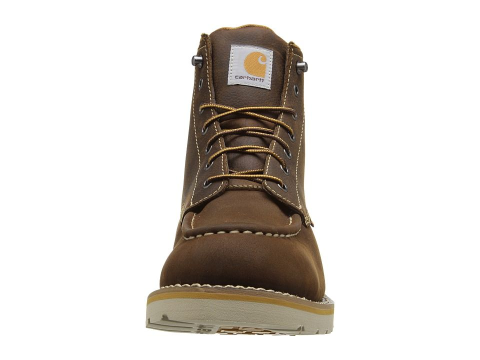 80818d2ac227 Carhartt 6 Waterproof Wedge Boot Men s Lace-up Boots Brown Oil Tanned  Leather
