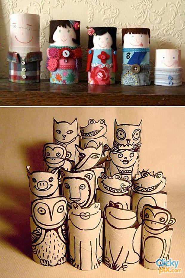 Christmas Decoration Ideas Using Toilet Paper Rolls
