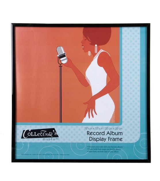 Mcs Industries Collector S Museum Record Album Display Frame 12 X12 Joann Album Frames Framed Records Frame Display