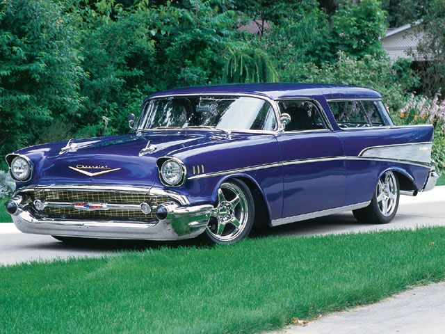 1957 Chevy Nomad 1995 Corvette Chassis Chevy Super Chevy