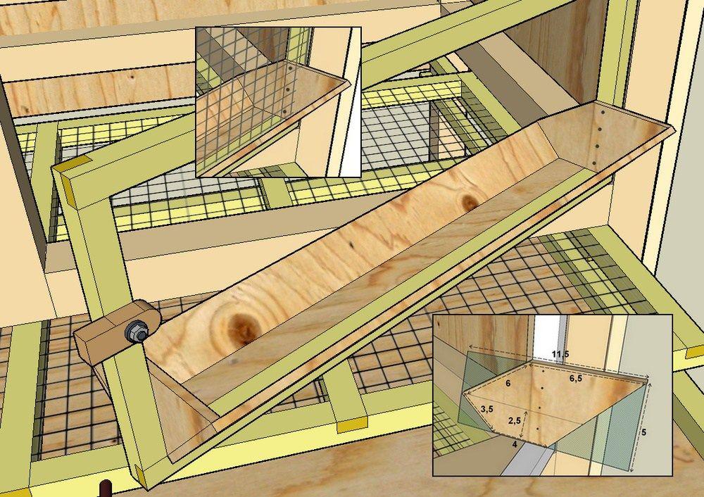 Plan d 39 une mangeoire pour cage de caille cage caille pinterest cailles mangeoire et les - Comment cuisiner les cailles ...