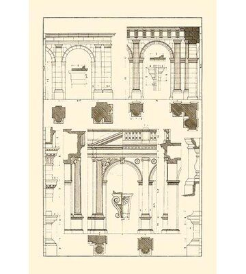 Buyenlarge Arcades by J. Buhlmann Graphic Art | Wayfair