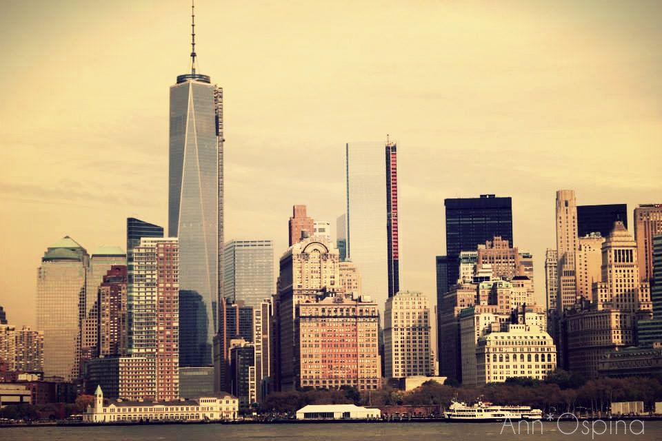 La ciudad de Nueva York, #BigApple. Imagen estilo #vintage de una de las metopolis mas grandes del mundo.