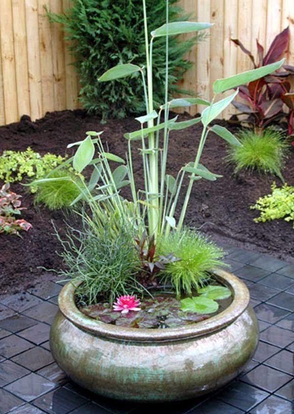 Mini estanques para peque os jardines estanques - Estanques para jardines ...