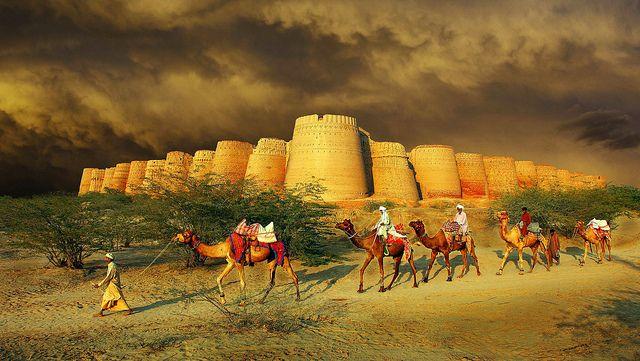 Derawar Fort, Choolistan Desert, Bahawalpur