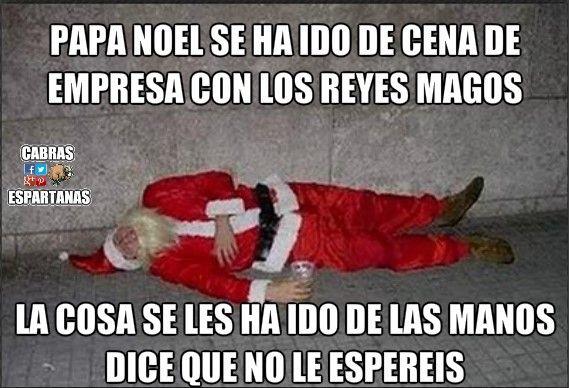 Papa Noel Esta Borracho Papa Noel Noel Navidad Humor
