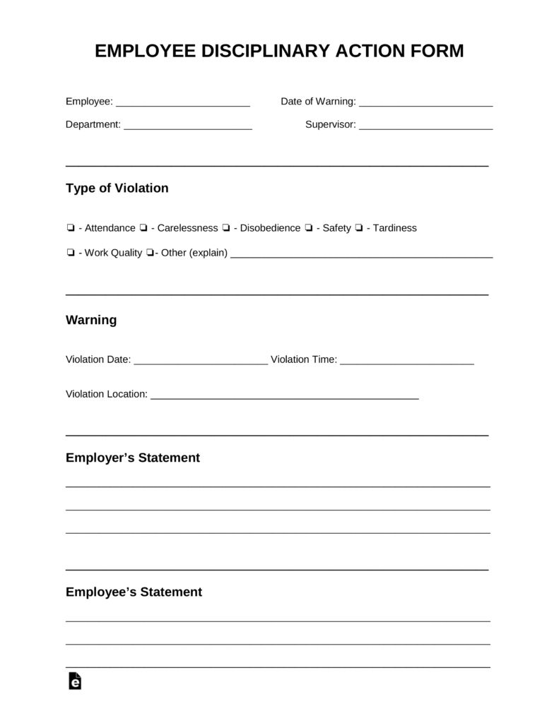 Image Result For Discipline Form Templates Report Card Template