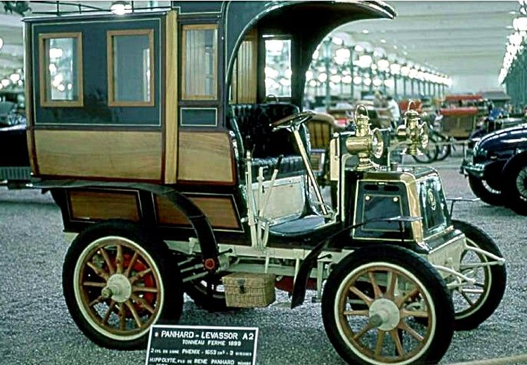 panhard et levassor a2 voiture routi re de 1900 la panhard et levassor type a 2 cette voiture. Black Bedroom Furniture Sets. Home Design Ideas