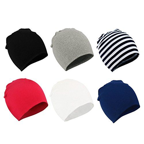 Zando Baby Cotton Beanies for Boys Toddler Knit Hats Cute Warm Infant Beanies for Baby Gir