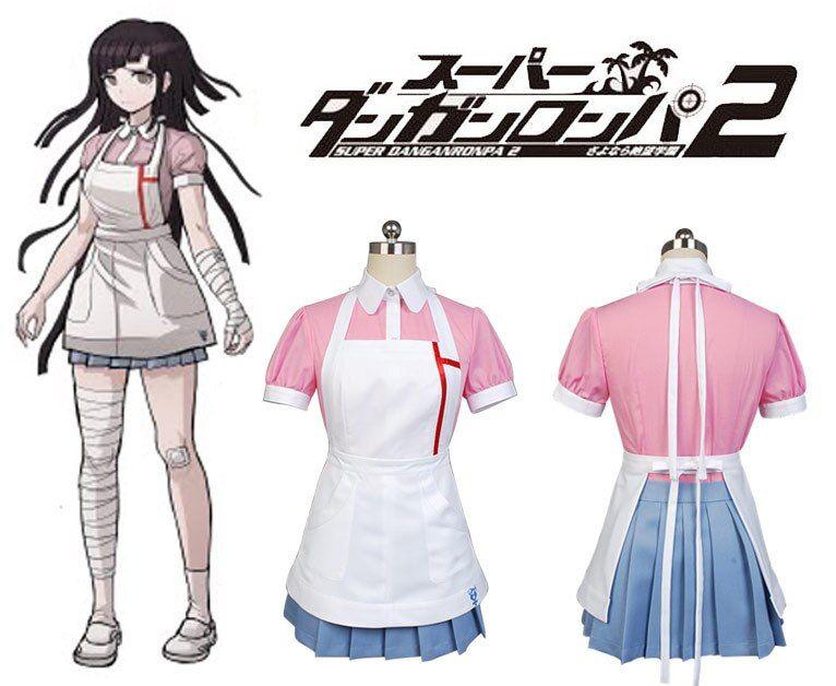 Dress Cosplay Dangan Ronpa 2 Danganronpa Mikan Tsumiki Cosplay