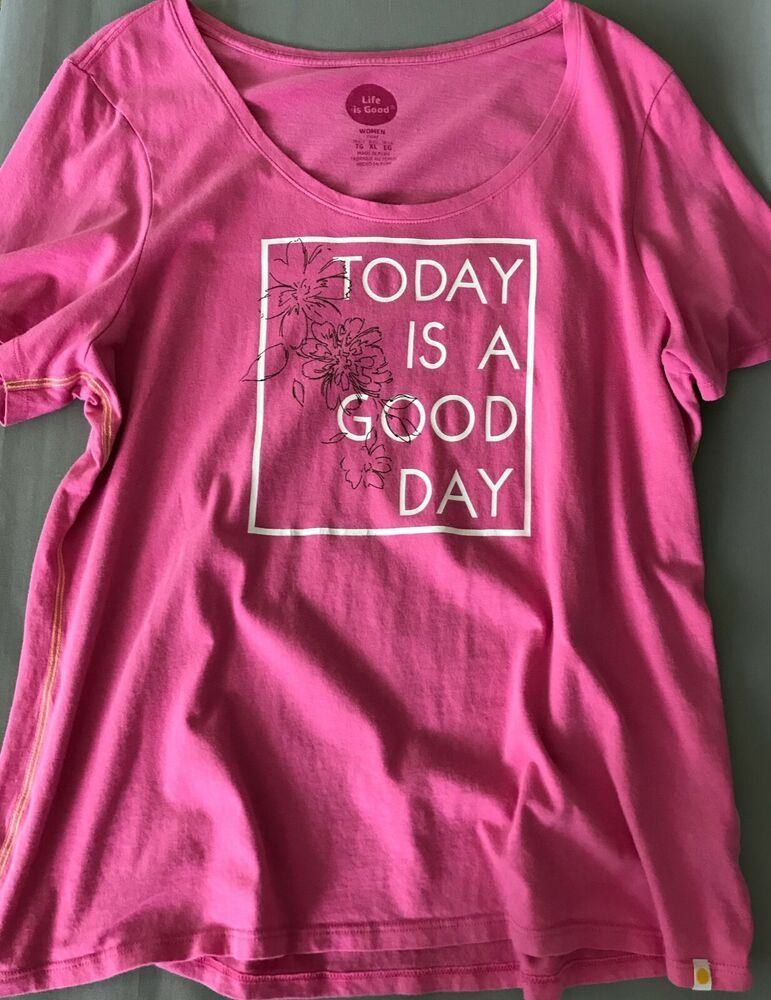 Life is Good Day Graphic T-Shirt