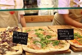 Image result for pizza al taglio street food