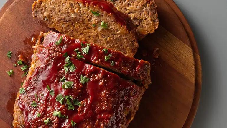 Easy Italian Meat Loaf Progresso Recipe Meatloaf Italian Meats Easy Italian Meatloaf
