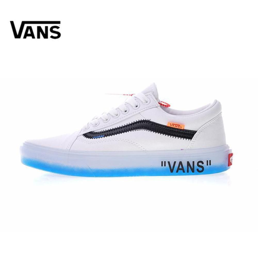 7ae300a0139 Vans X Off-White Style 36 Custom Tribute Unisex Low-top Sneakers VN ...