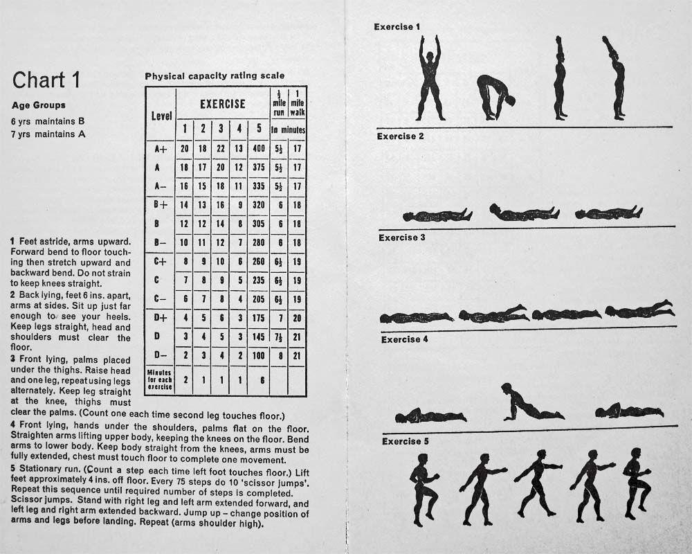 5bx Chart 1 (http://en.wikipedia.org/wiki/Calisthenics) | Health ...