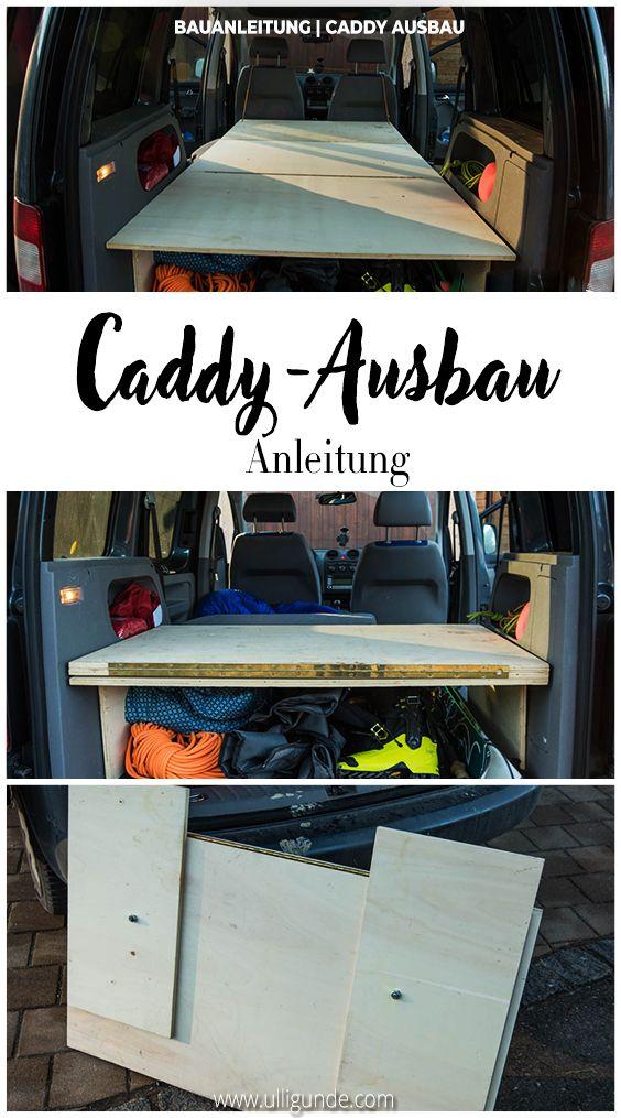 VW Caddy BettAusbau (Bauanleitung fürs selber Bauen) in