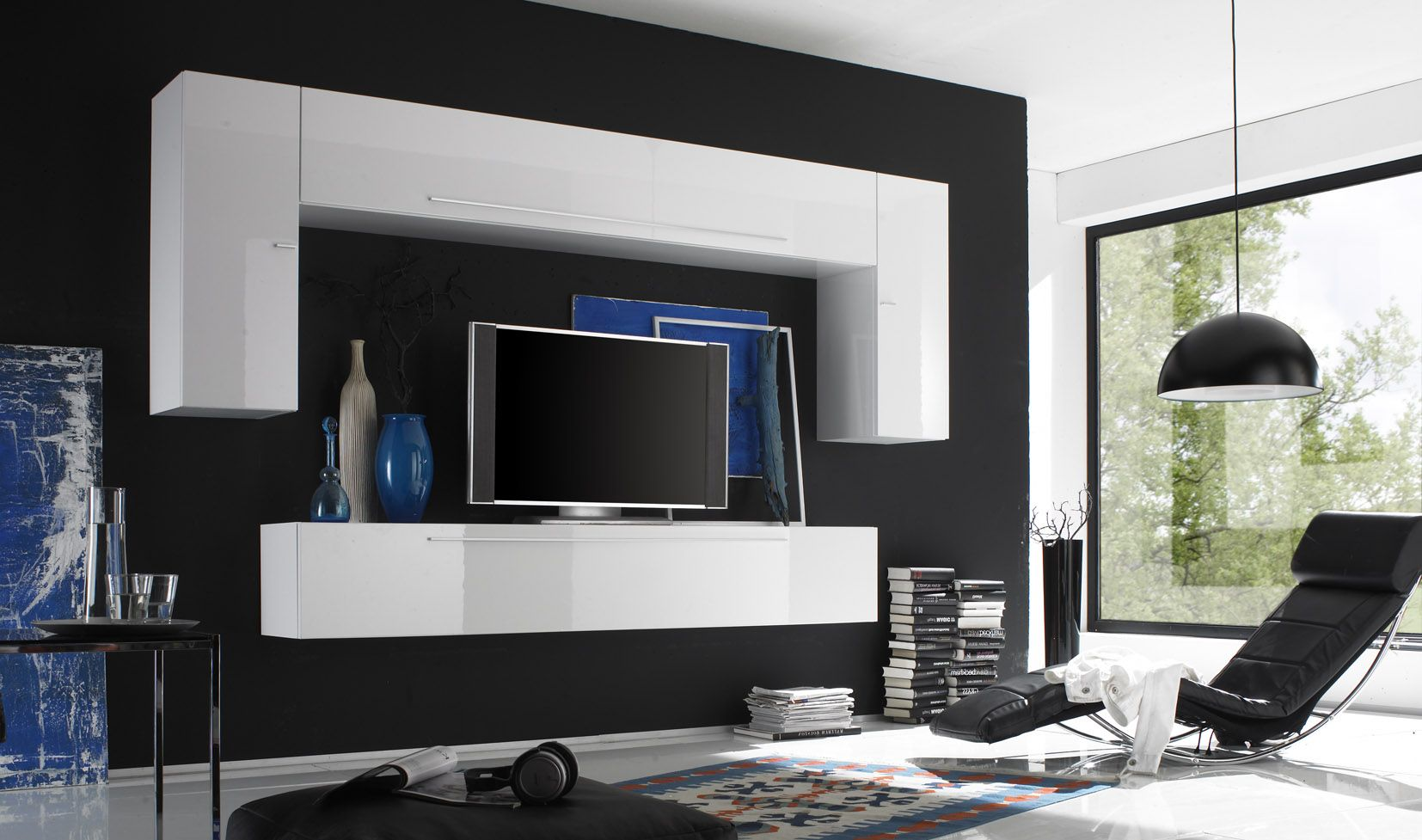 Modern Italian Wall Unit Va Primo B For The Home Pinterest # Finlandek Meuble Tv Mural