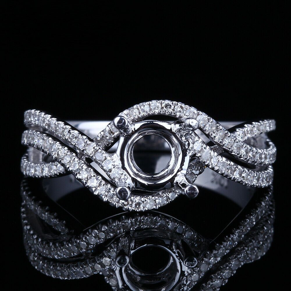 Pin On White Gold Fine Diamond Ring
