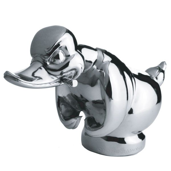 Chrome Rubber Duck Hood Ornament