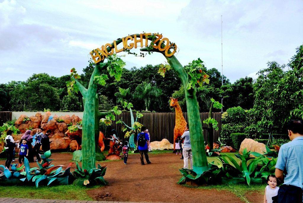 Bxchange Lightzoo Tempat Wisata Baru Di Jakarta Liburan