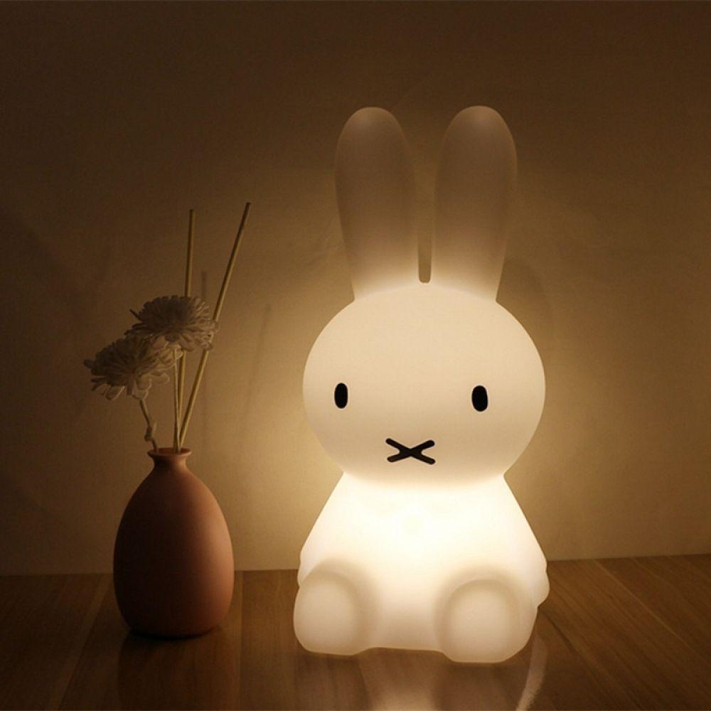 Cute Rabbit Dimmable Lamp Bunny Lamp Night Light Kids Cute Night Lights