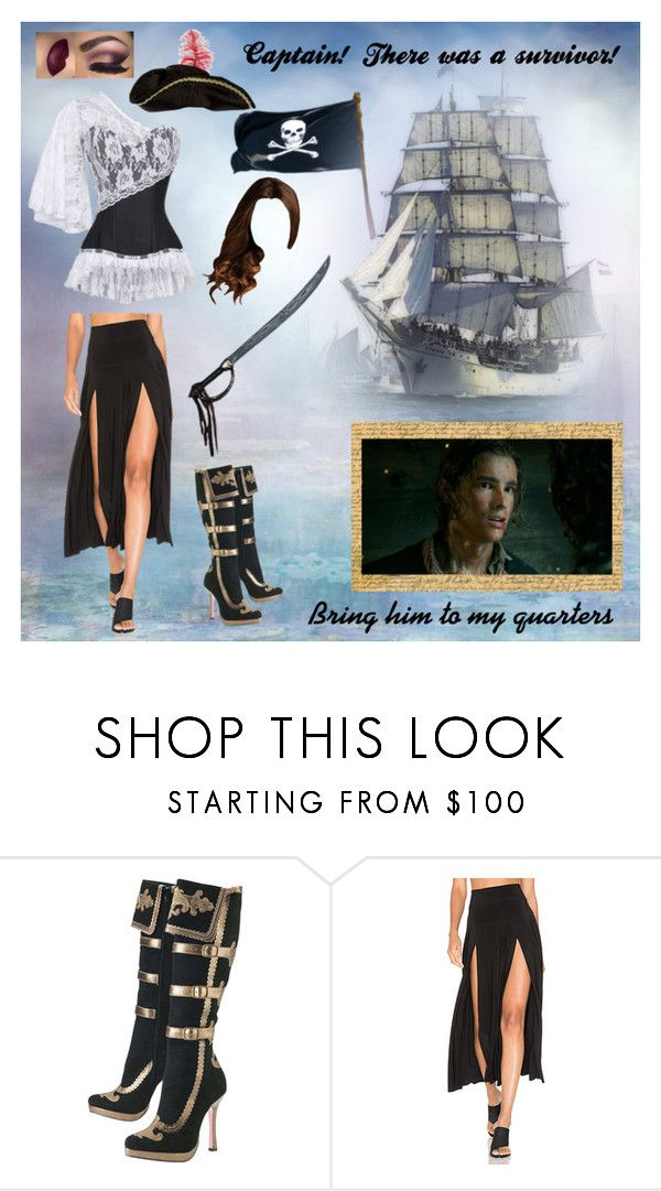 """""""Pirate Queen"""" by micole-hopke ❤ liked on Polyvore featuring Norma Kamali"""
