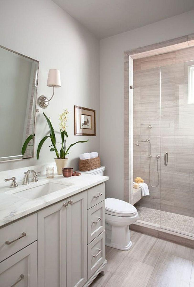 60 Elegant Small Master Bathroom Remodel Ideas (45 | home ...