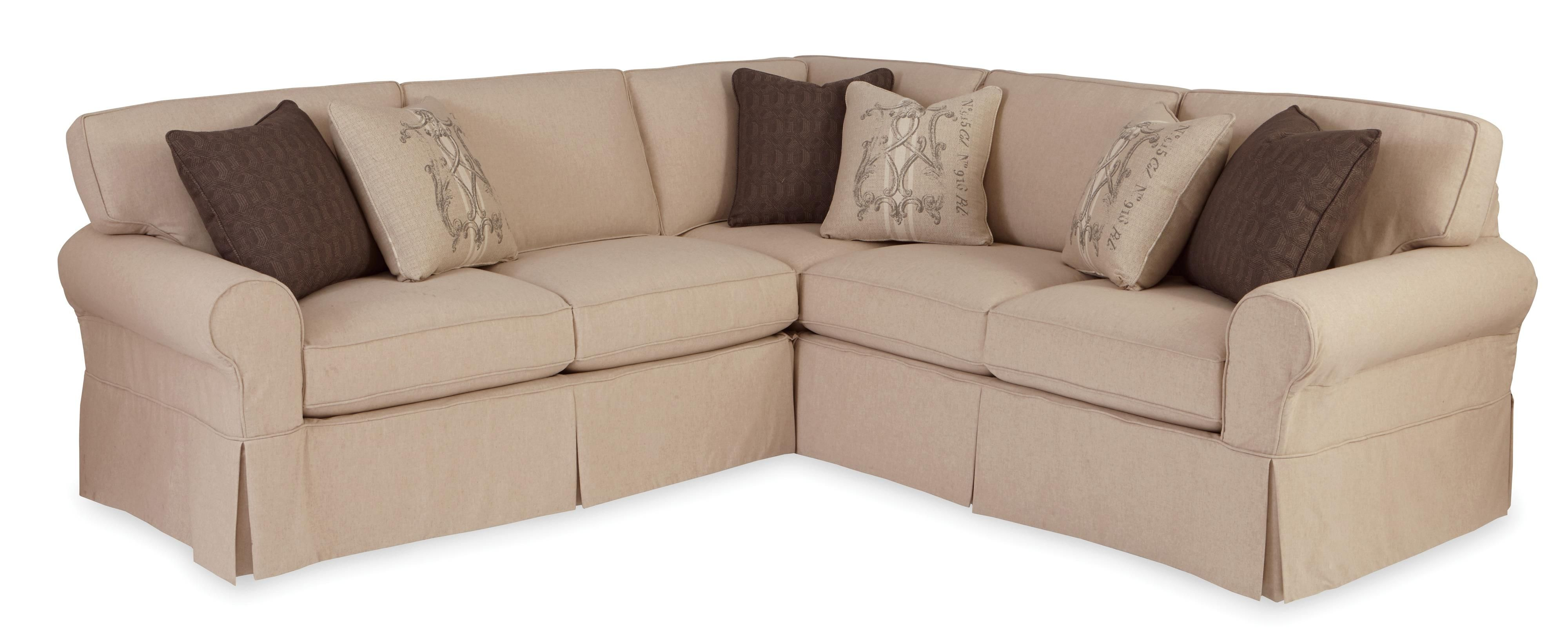 Charmant 9228 Two Piece Slipcovered Sectional Sofa With RAF Return Sofa By  Craftmaster At Bullard Furniture