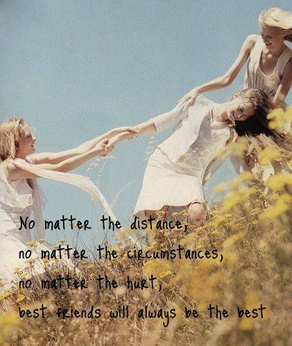 No matter the distance friendship quote