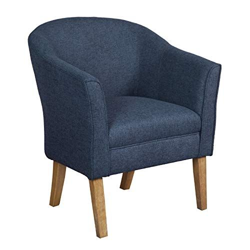 Best Benjara Bm194027 Wooden Accent Chair With Curved Back 400 x 300